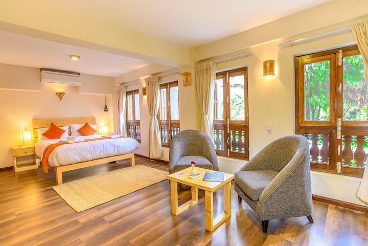 HOTEL TIMILA Newa comfort home queen bedroom A