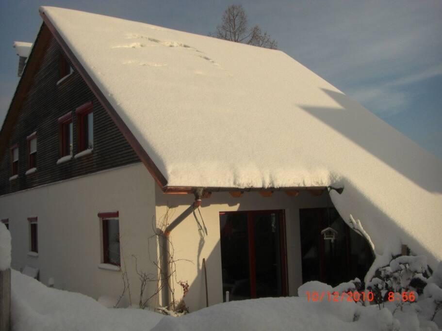 Hat nicht jeden Winter soviel Schnee
