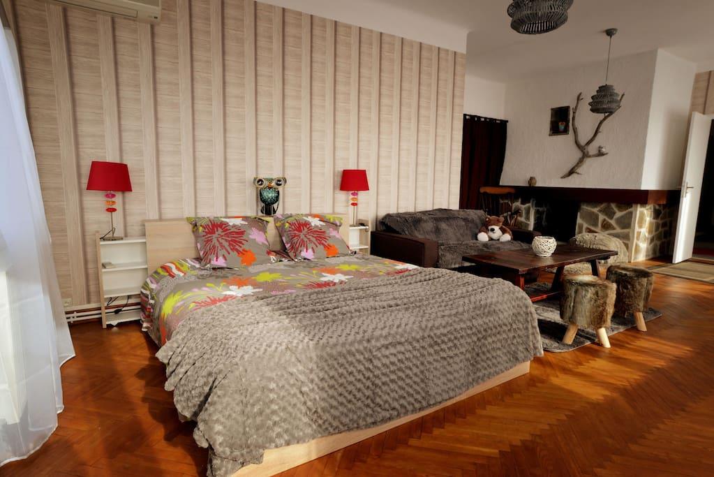 Vaste chambre de 55m climatis e pr s de la cit case in for Sono pour chambre