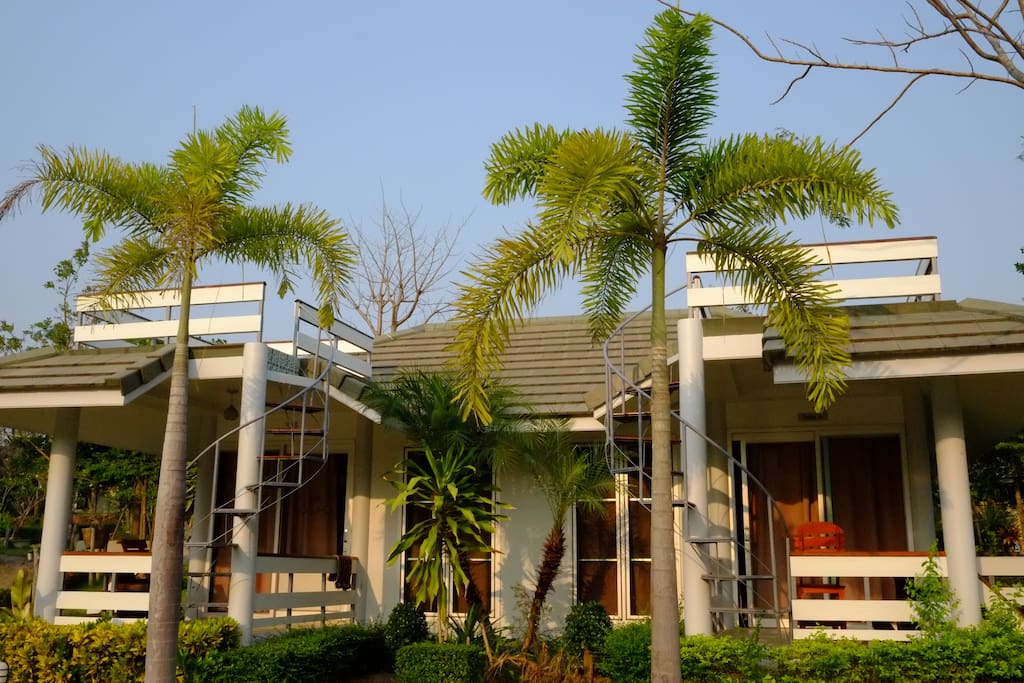 Twin house comes with fully furnished and adequate amenities
