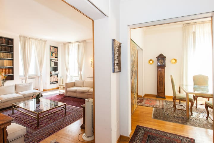 Wide apartment - Spanish Steps