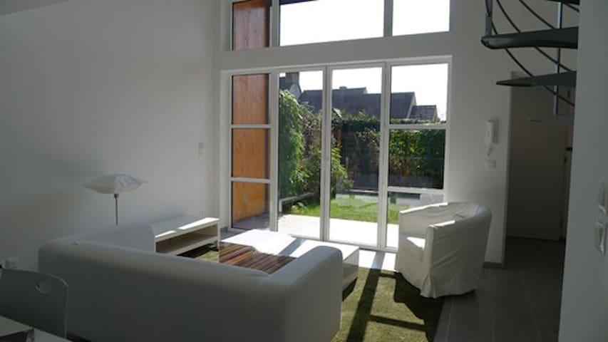 Duplex écologique contemporain 1 - Marcoussis - Casa