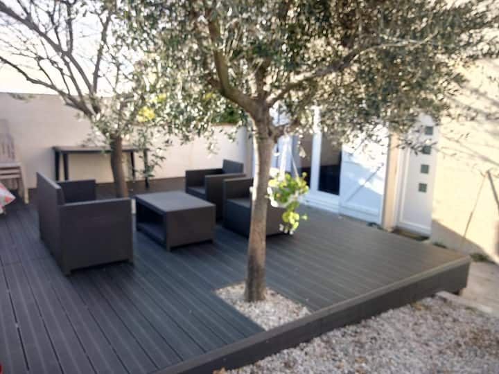 Maison 120m - Jardin + Terrasse d'été