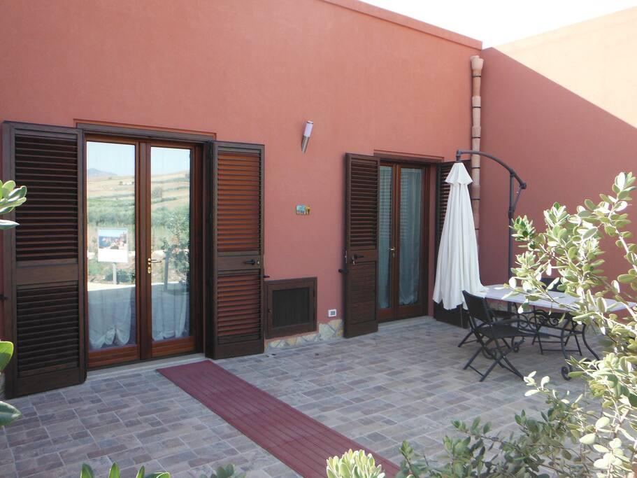 Area esterna ad uso esclusivo dell'appartamento Segesta