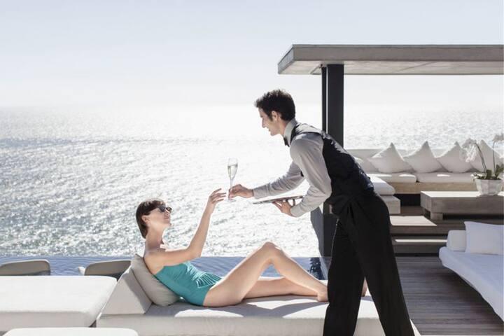 RITZ BAL HARBOUR HOTEL,2 BEDROOM SUITE,OCEAN VIEW - Bal Harbour - Dom