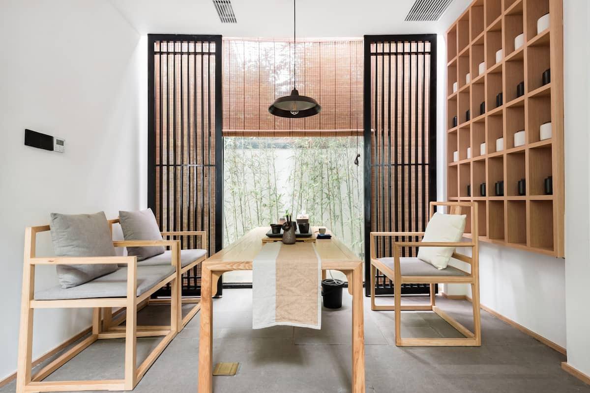 同里古镇 温馨新中式大床房近景区可携宠的独栋精品民宿。