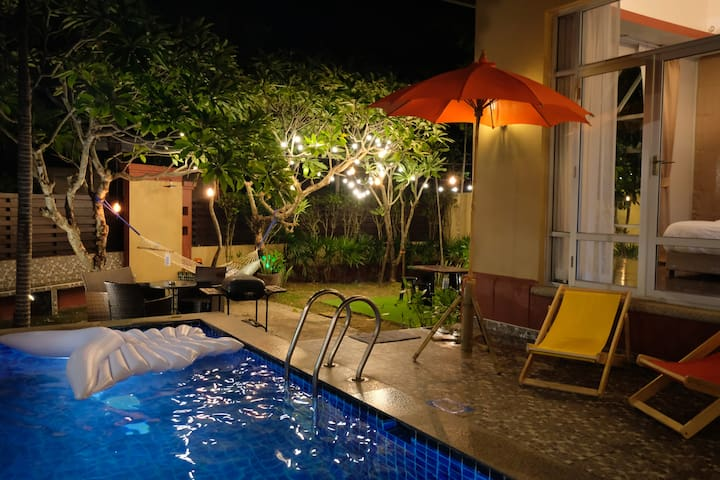 60% OFF 4BR Pool Villa 14 Pp| Pool table | Karaoke