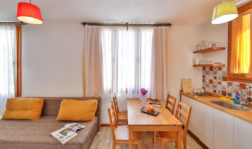 Oturma Alanı & Mutfak / Kitchen & Living Room