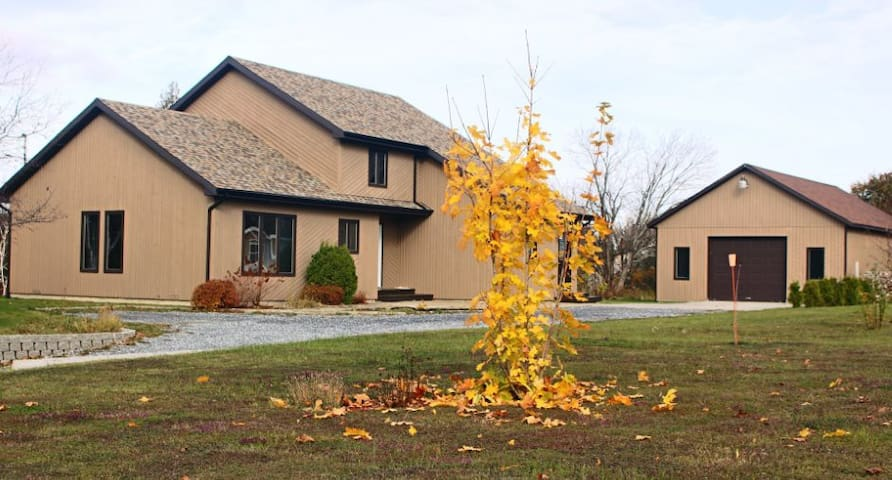Grande maison chaleureuse au calme - Sainte-Anne-des-Monts - Huis