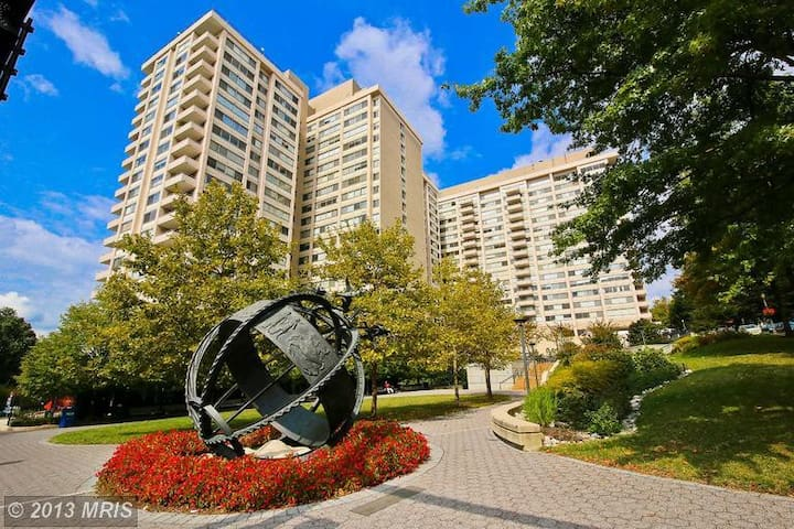 sunny high end panoramic view condo