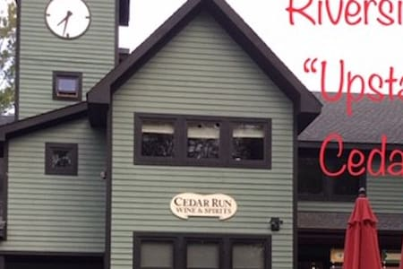 """Riverside """"Upstairs"""" Suite at Cedar Run"""