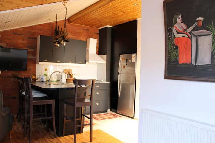 #49 Cozy apartment at Didveli Residence