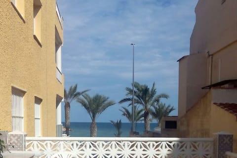 Apartamento acogedor frente a la playa