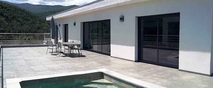 Villa vue mer - piscine privée - Solenzara