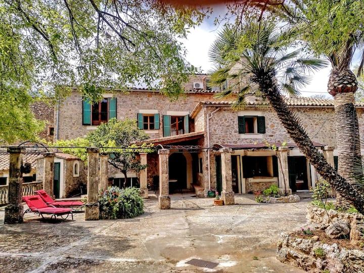 Haus Palmeras auf der Finca Son Salvanet