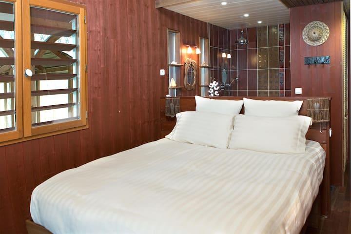 Chambre MAFATE à Lacanau - Lacanau - Bed & Breakfast