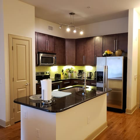 Luxury 2bed2bath Apartment at Medical Center