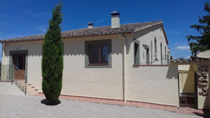 Apartamento entre viñedos cerca de Barcelona