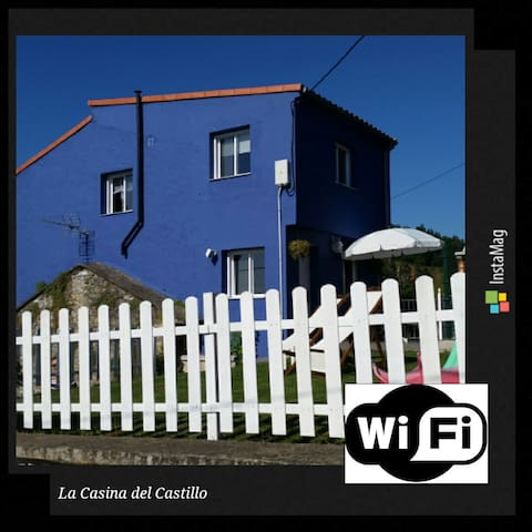 Casa panorámica en El Castillo. - Soto del Barco - Rumah