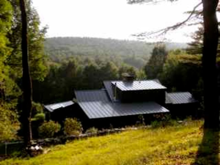 Real country feeling! House situated on 10 private acres.