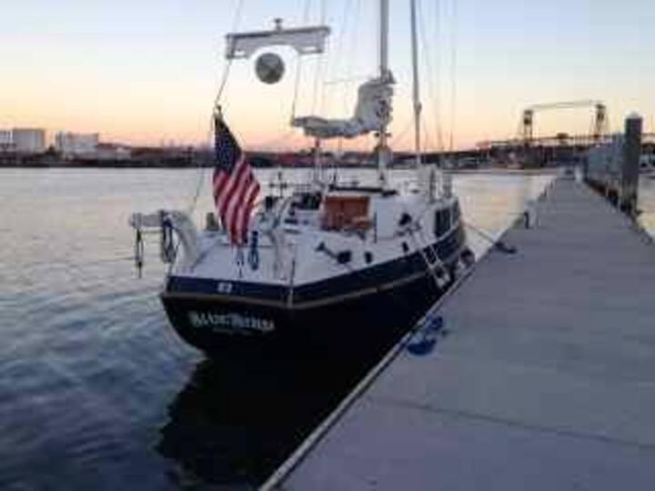 Sailboat near Seattle