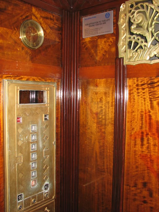 Gotta love the elevator!