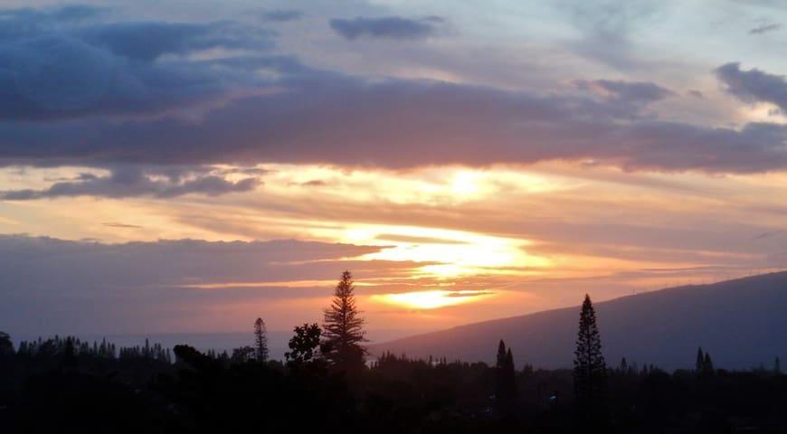 Pookela Paradise 2 - Ocean Views!   STMP (PHONE NUMBER HIDDEN) - Makawao - Hus
