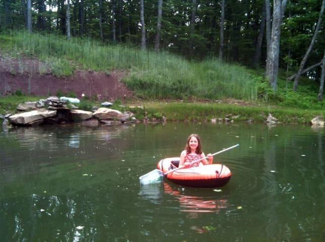 Spring Fed Pond.