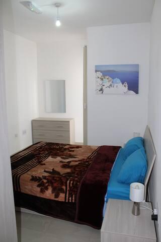 Main bedroom with Winter Linen