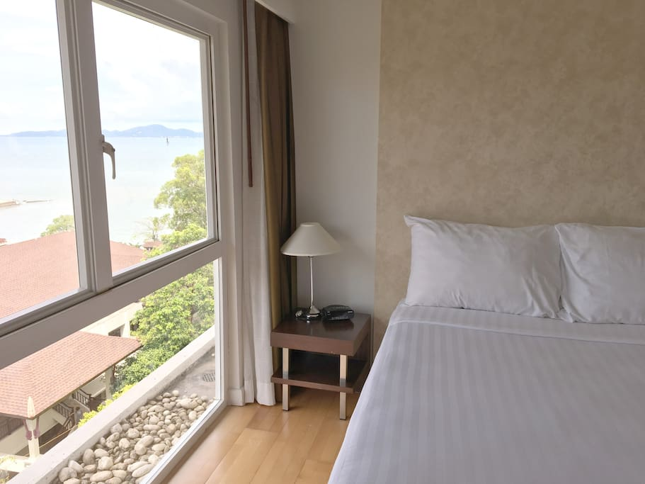 Studio Room for 2 pax,WiFi,Pattaya,Pratumnak_1-Guest Room WITH the angle of view