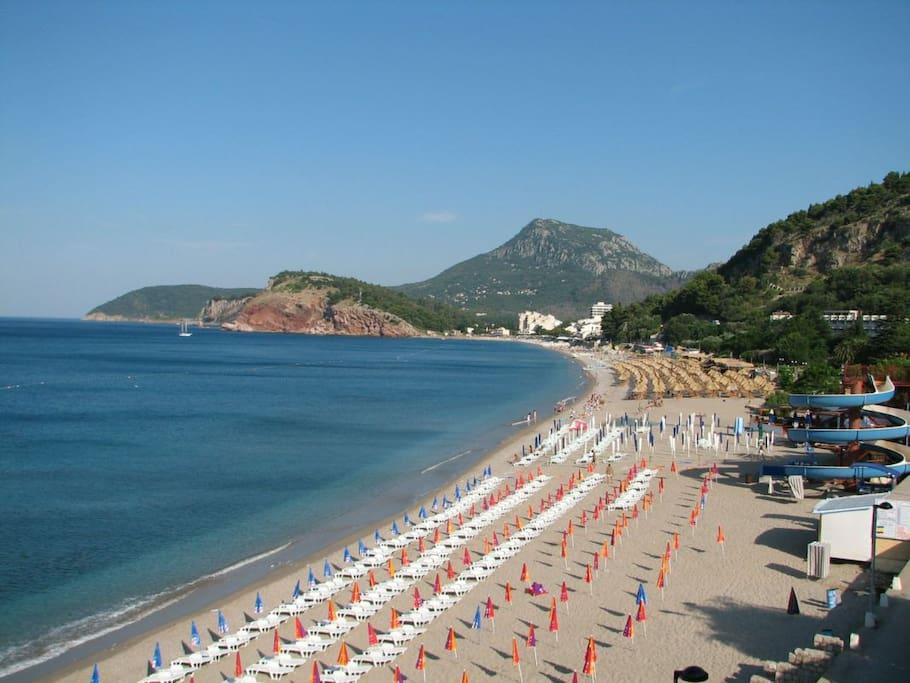 City beach - Sutomore