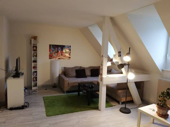 Chambre double au coeur de Strabourg
