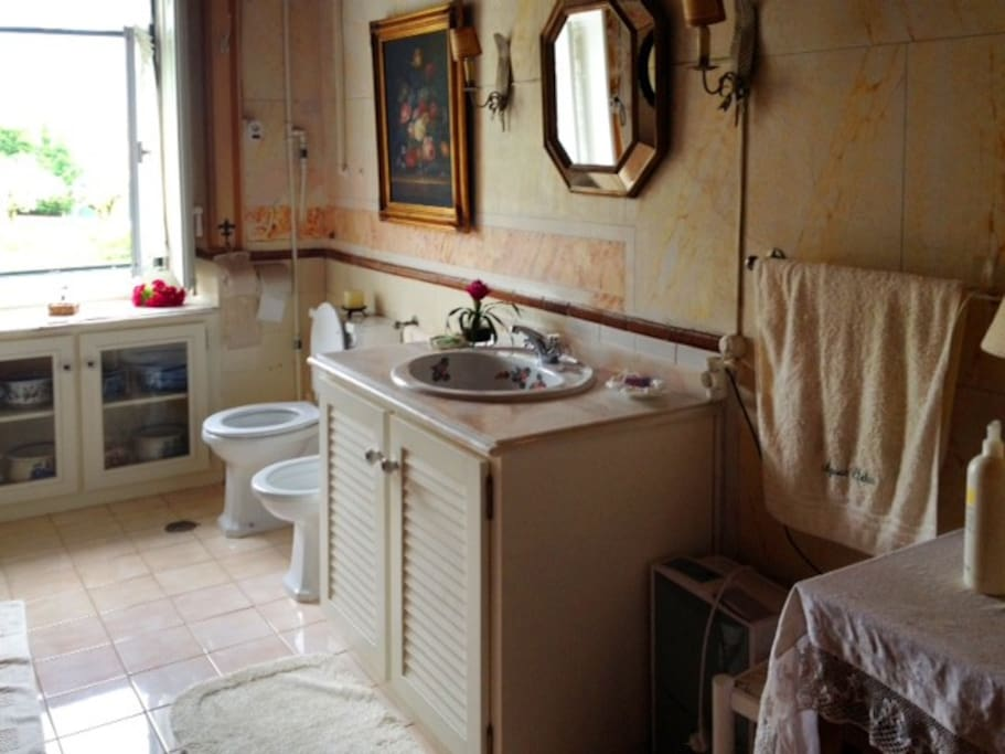 spacious bathroom fully equiped