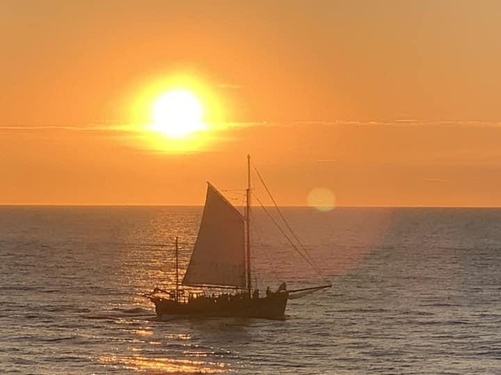 Gîte en front de mer. Vue exceptionnelle