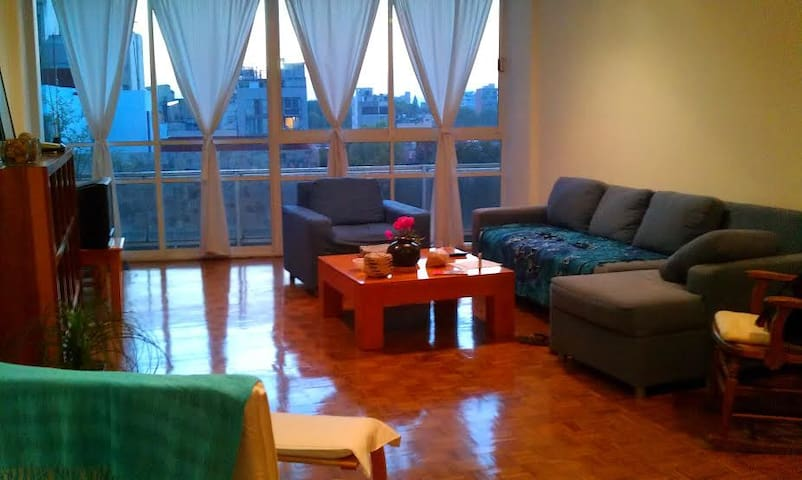 nice apartment rented by season - Mexiko-Stadt - Wohnung
