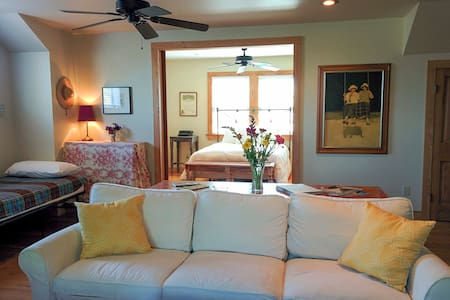 Airy Loft in Creole Cottage in Historic Uptown