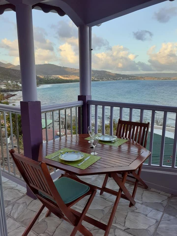 Villa JB - Studio avec vue sur la mer