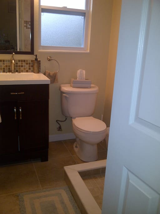 All new bath room in 2013