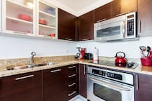 State Of The Art Kitchen with Stainless Steel Appliances