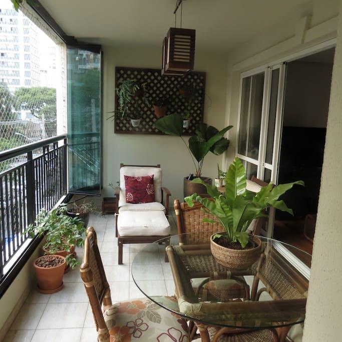 Roomy Balcony