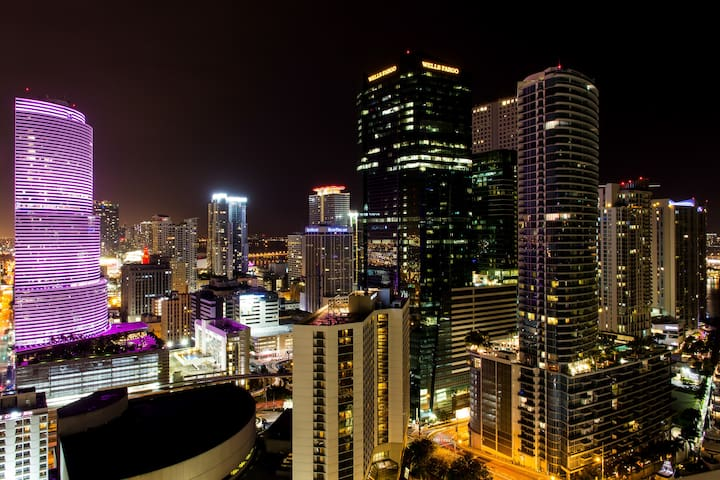 LUX-HIGHRISE-5* 2LEVELOFT BRICKELL - Miami - Departamento