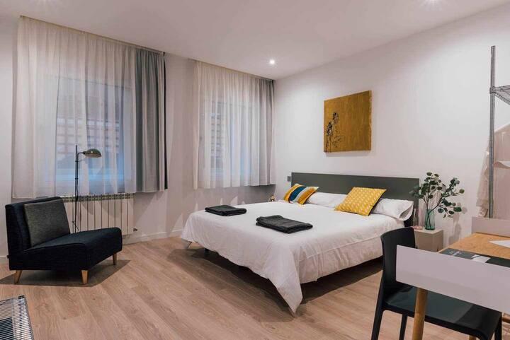 Apartamento 11A  de dos habitaciones situado en pleno centro