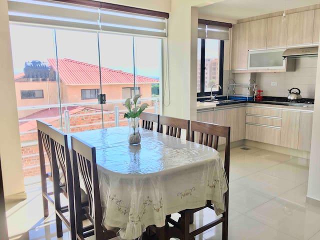 Pequeño  y acogedor departamento en Cochabamba