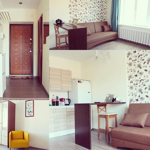 Ухоженная квартира в Бердске - Berdsk - Apartment