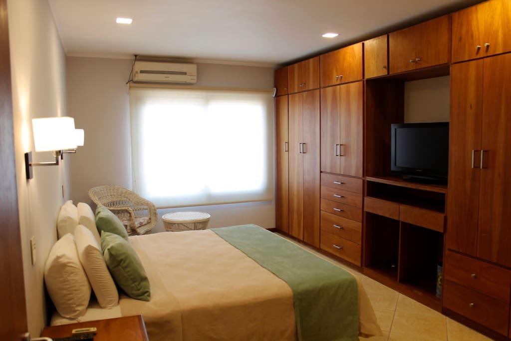 Habitacion Principal en Suite - Cama King Size