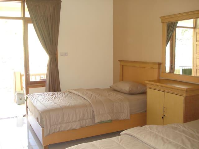 A room in Lembah Rinjani, Sembalun