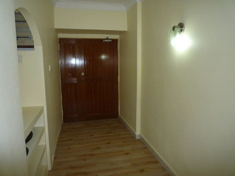 The main door leading you to the living room