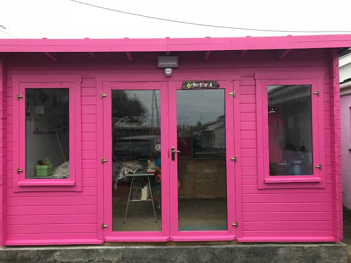 The Thread Shed - our creative space
