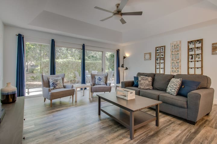 6 indigo lane is a perfect remodel in the desirable Lawton Woods section of Sea Pines!