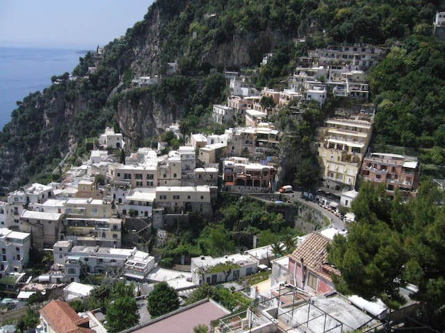 Wi Fi lovely loft Positano center  - Positano - Huis